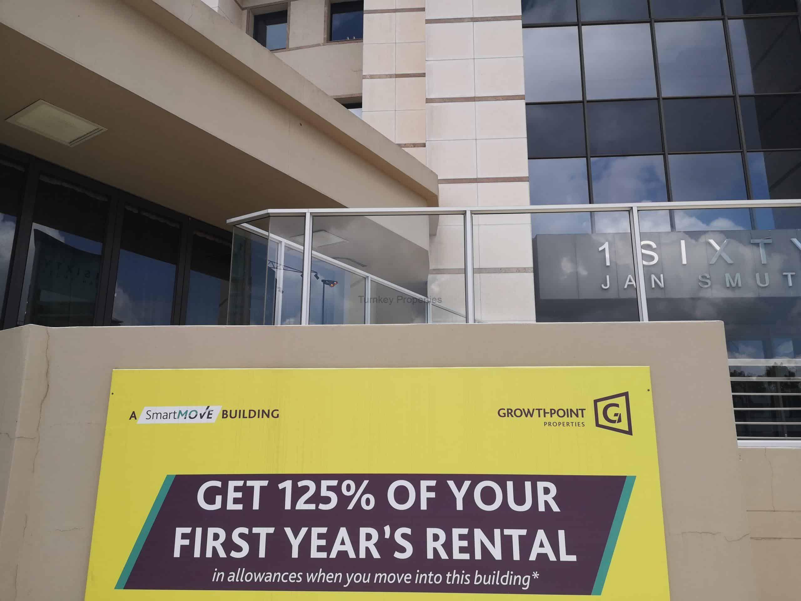 477 m² Office Space to Rent Rosebank 1 Sixty Jan Smuts