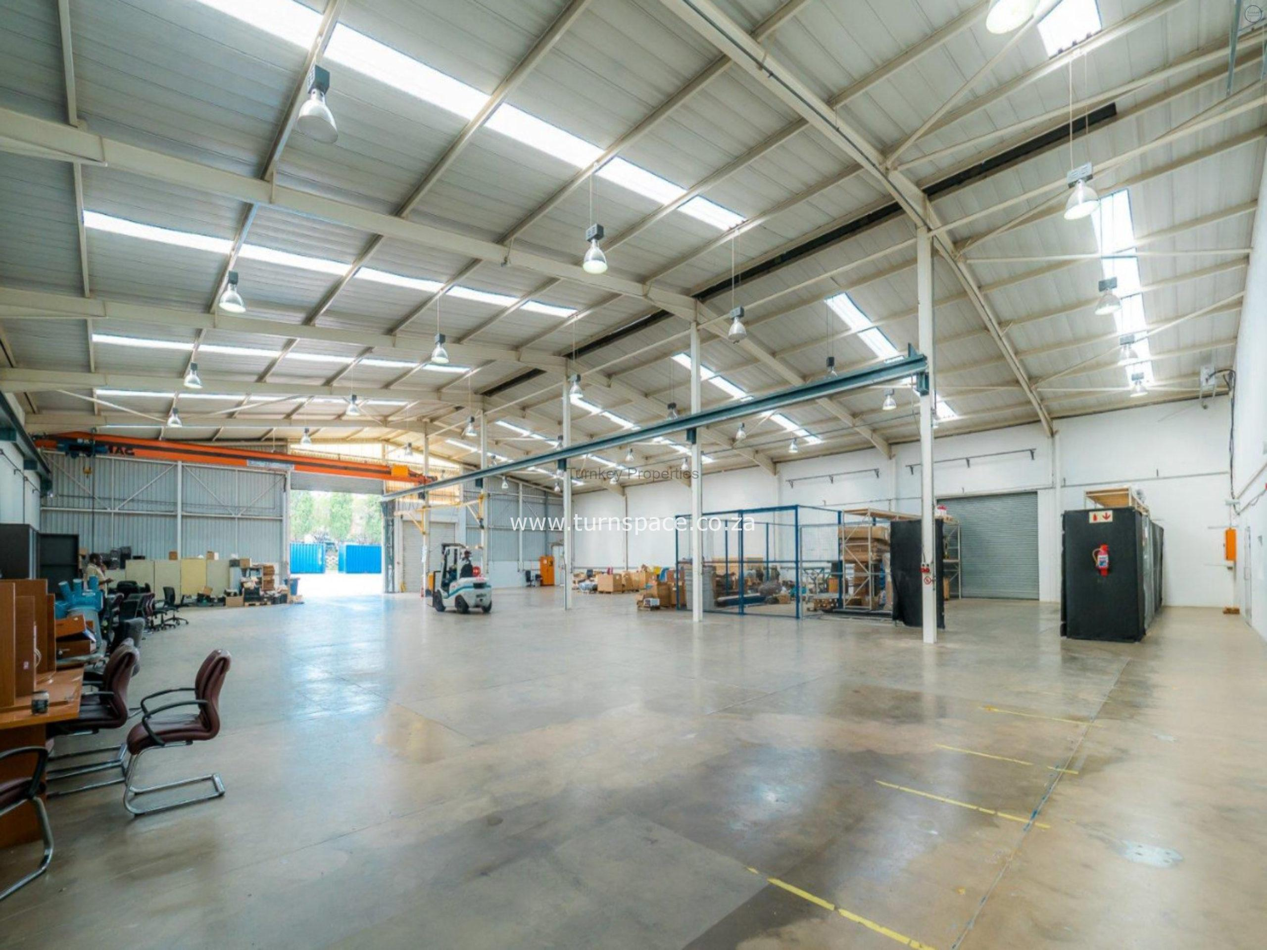 11,180 m² Industrial Property to Rent Midrand 130 Gazelle Avenue