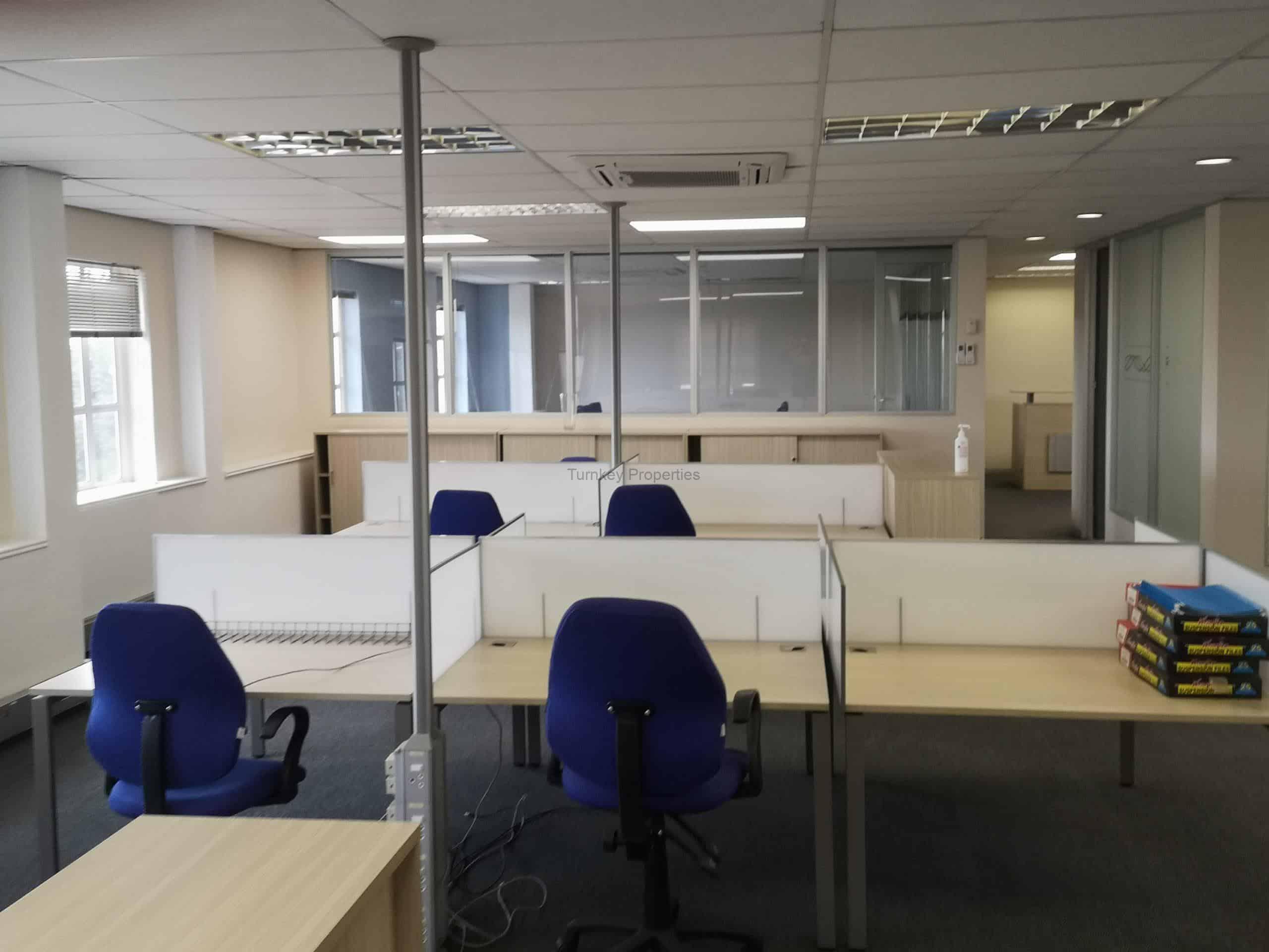 244m² office space to rent bryanston Hampton office park