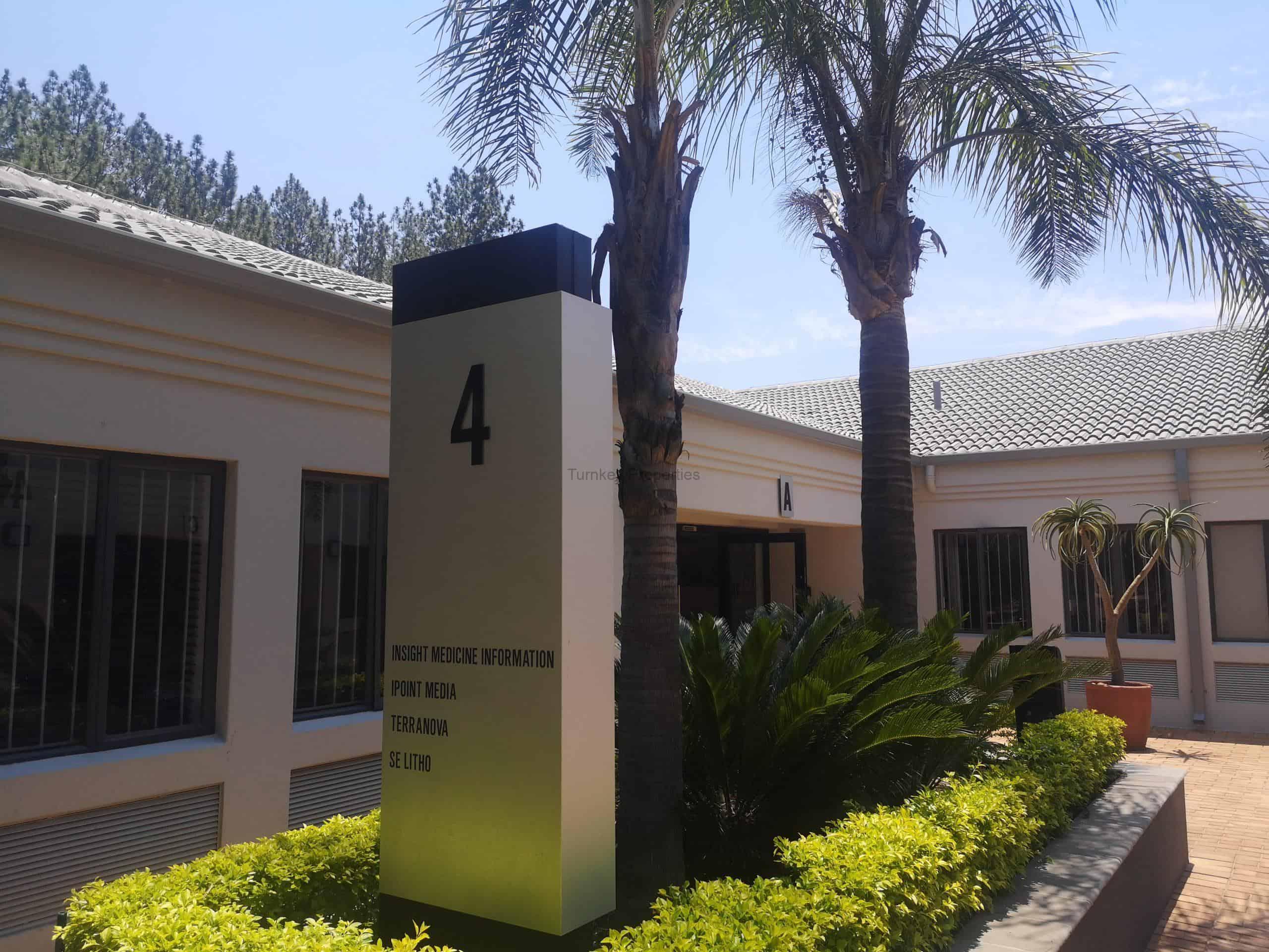 206m² Office Space To Rent Bryanston Bryanston Gate