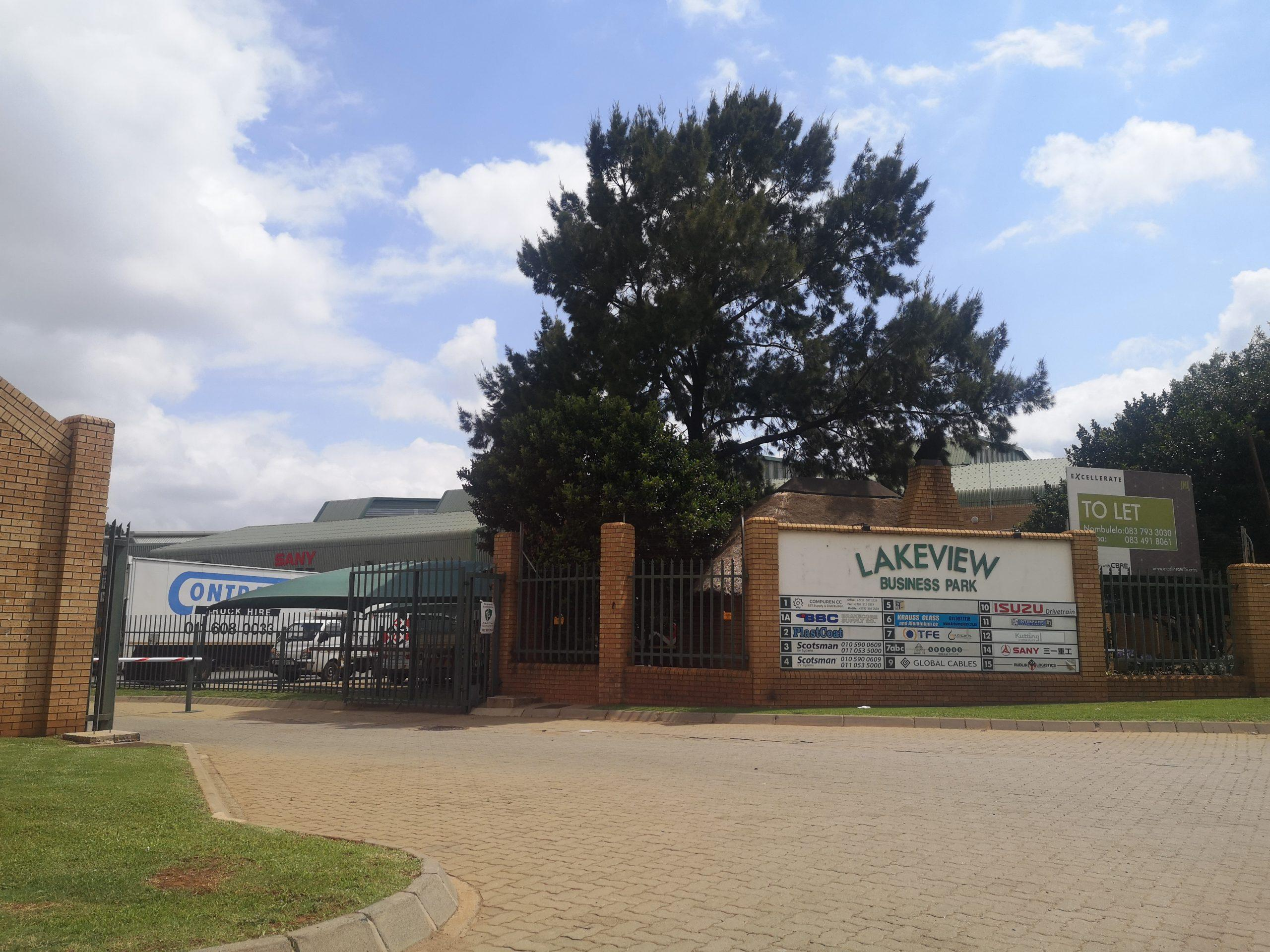 1992m² Industrial Property To Rent Jet Park Lakeview Business Park
