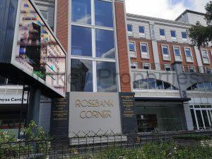 740m² Office Space to Rent Rosebank Rosebank Corner