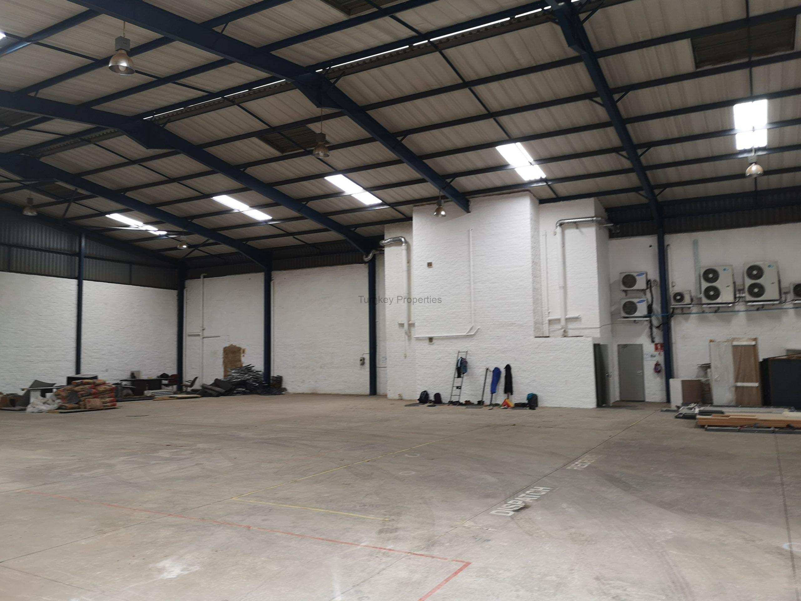 1364 m² Warehouse space to Rent Midrand Kyalami Business Park