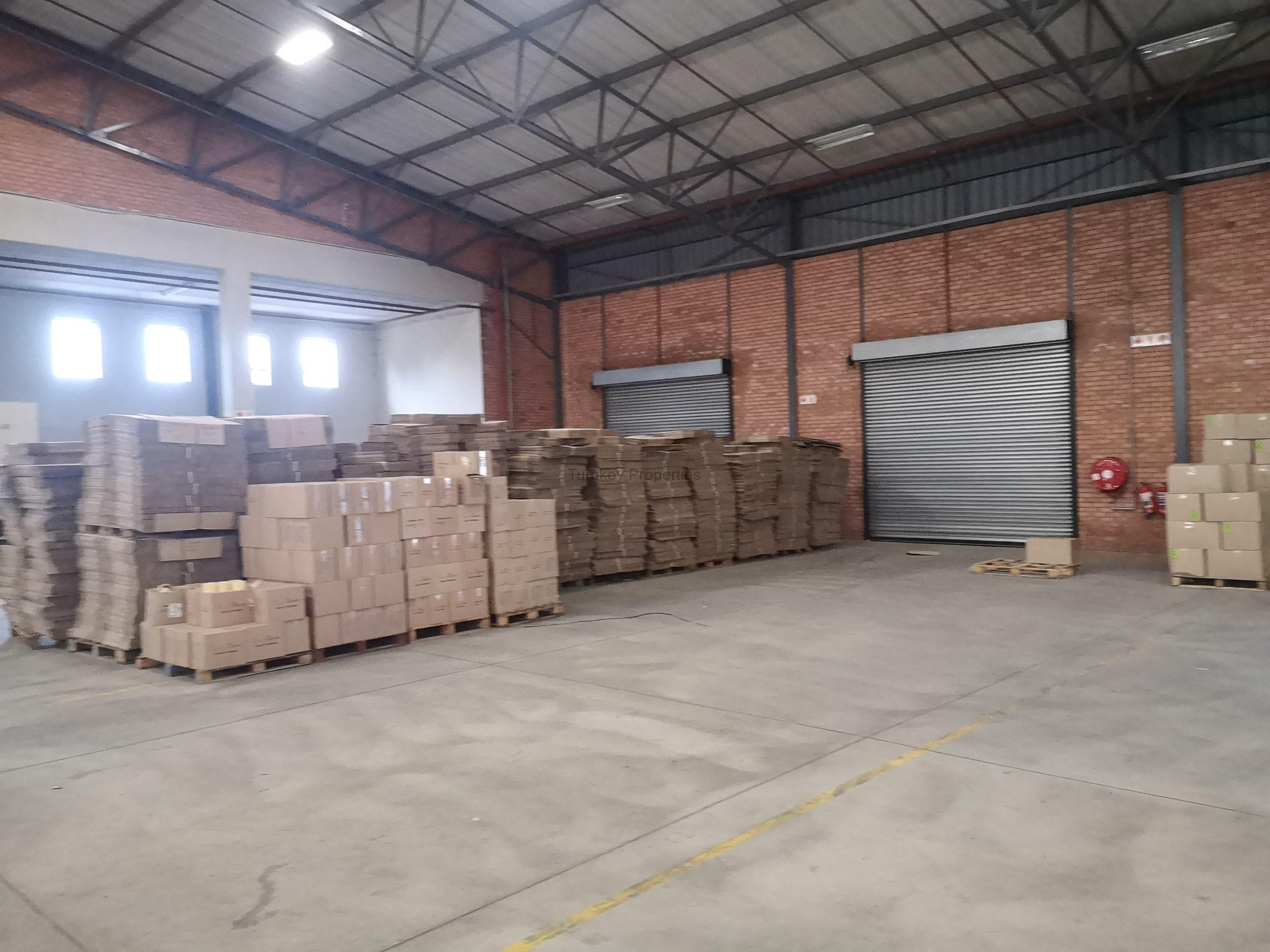 2650 m² Warehouse to Rent Pomona 84 Maple