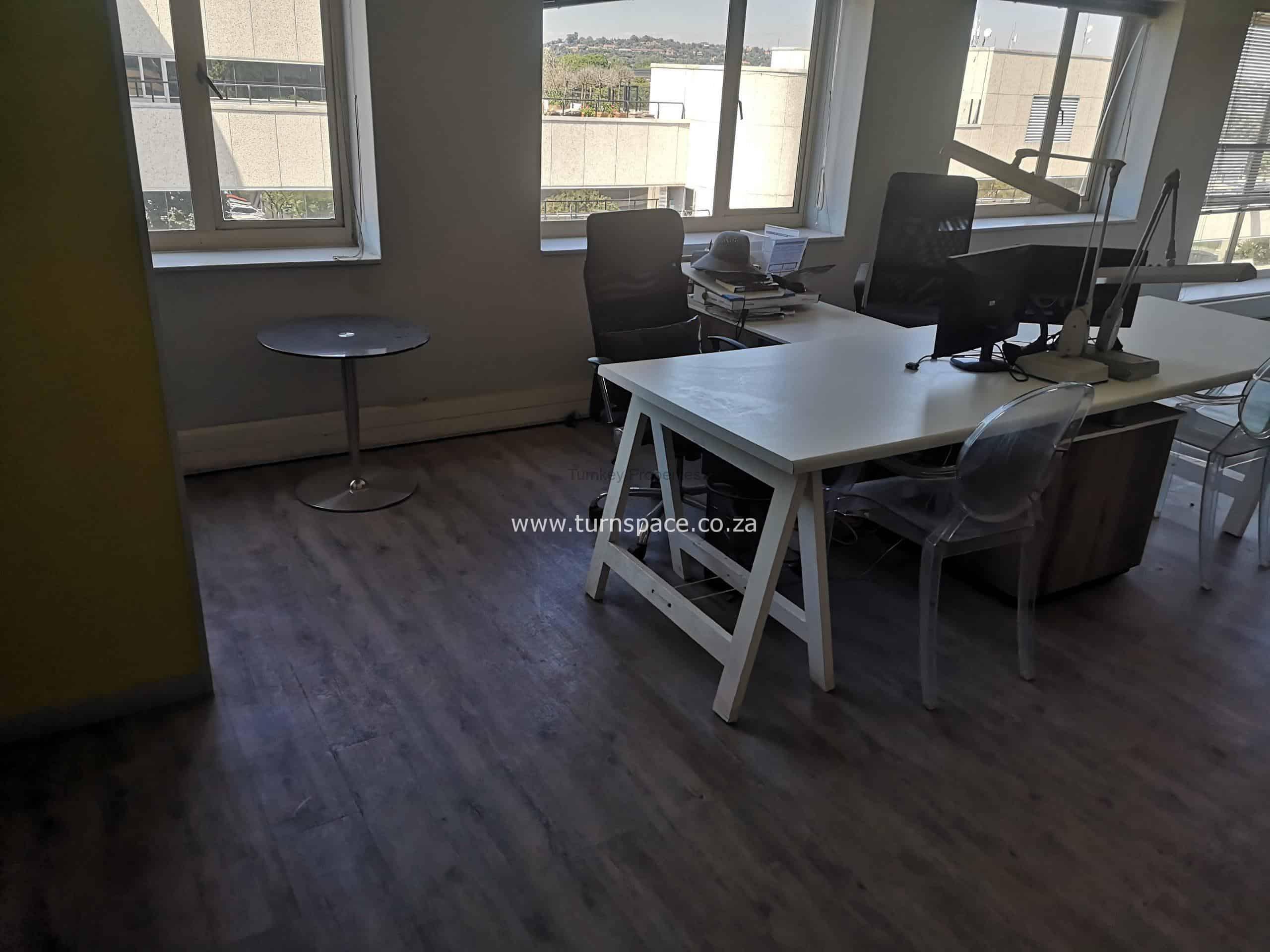 57m² Office Space to Rent Rosebank 3 Sturdee